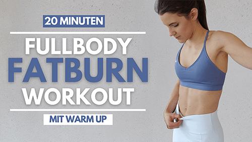 20 MIN FATBURN Workout – HIIT Abnehm Workout – Tina Halder – Tina.Fitness