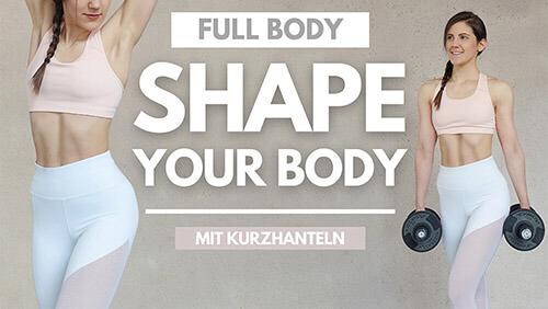 Shape your body – Get in Shape Workout – Tina Halder – Tina.Fitness