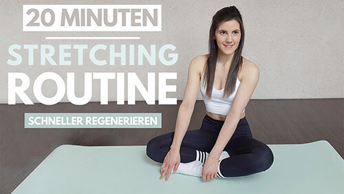 Stretching Routine – ganzen Körper dehnen – Tina Halder – Tina.Fitness