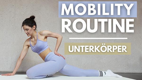 tina-halder 6 MIN Mobility Routine Unterkörper – Mobility Warm Up