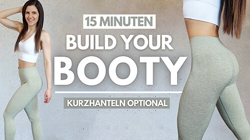 15 MIN Build your Booty Workout - Booty Workout - Po Workout