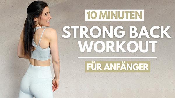 tina-halder Rücken Workout für Anfänger
