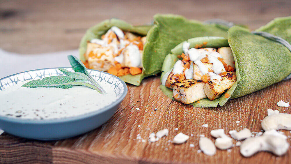 vegane wraps rezept – tina-halder