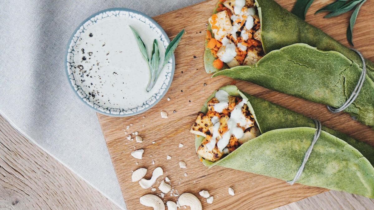 vegane wraps - tina-halder