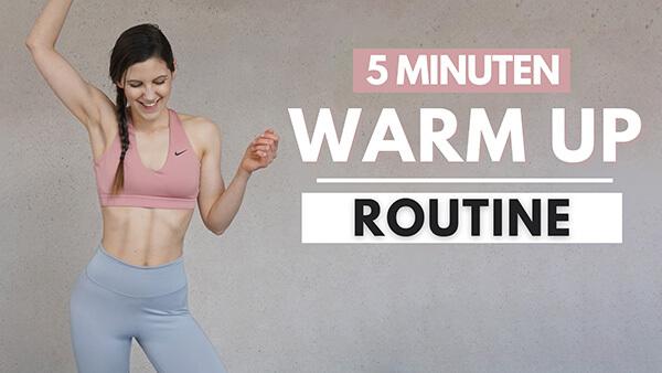 5 MIN Warm Up Routine - Tina Halder