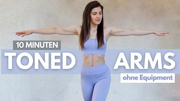 Arm Workout - Arme Workout - Arme trainieren - Winkearme wegtrainieren - Tina Halder