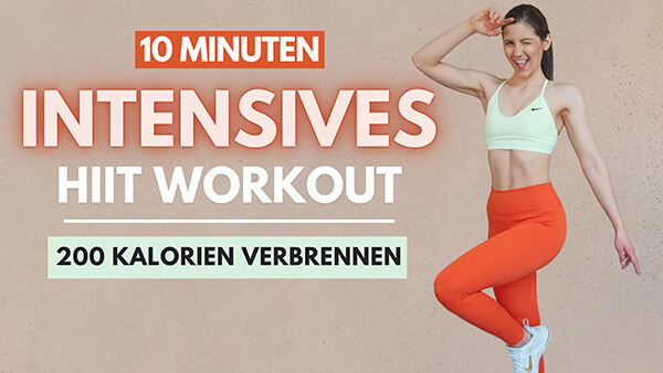 Intense HIIT Workout - intensives HIIT Workout - Tina Halder