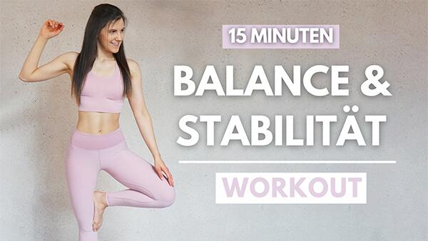 Gleichgewichtsübungen - Balance trainieren - Gleichgewicht trainieren - tina-halder