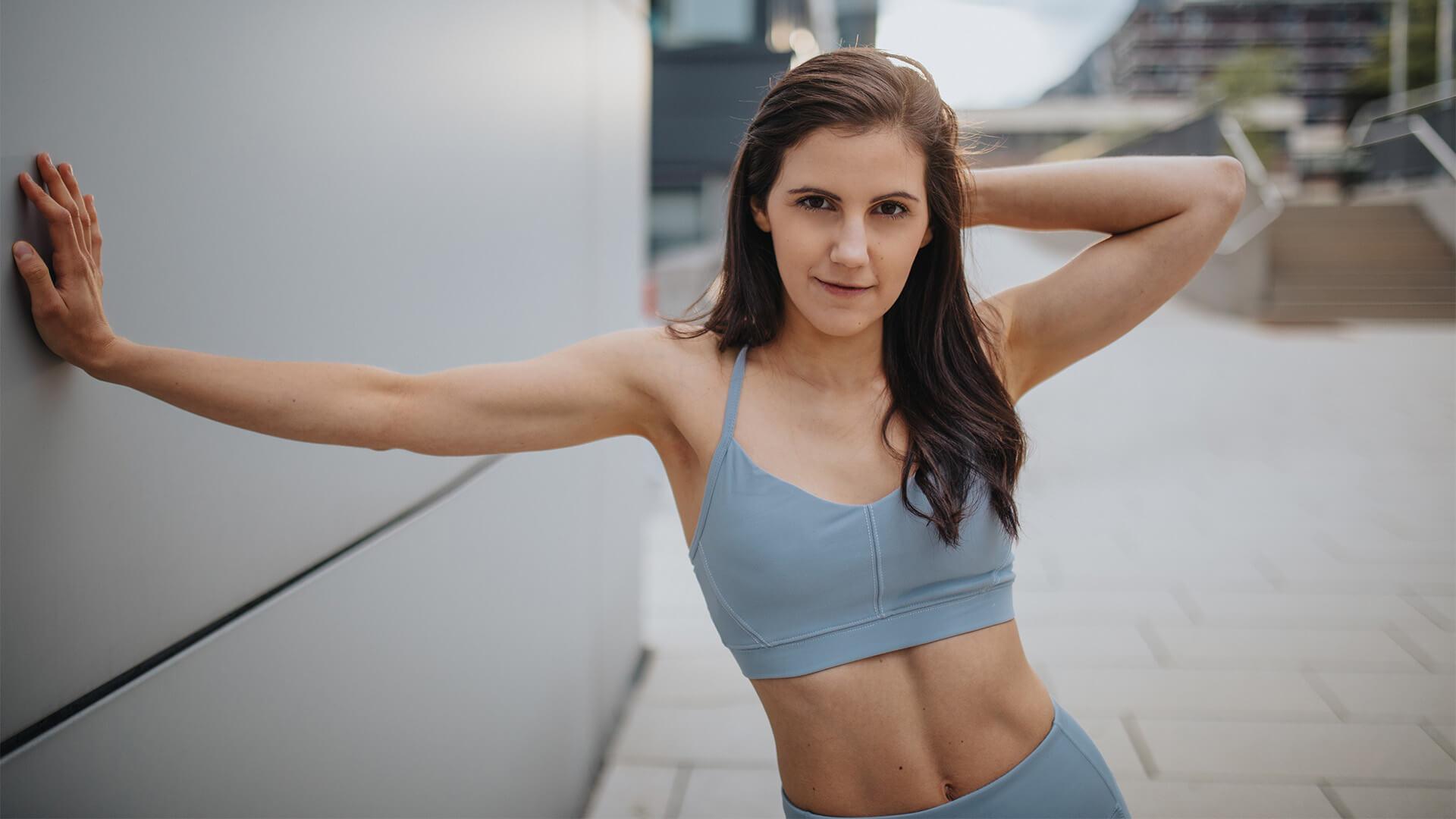 Muskelaufbau Frau