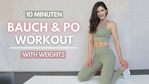 Bauch Po Workout